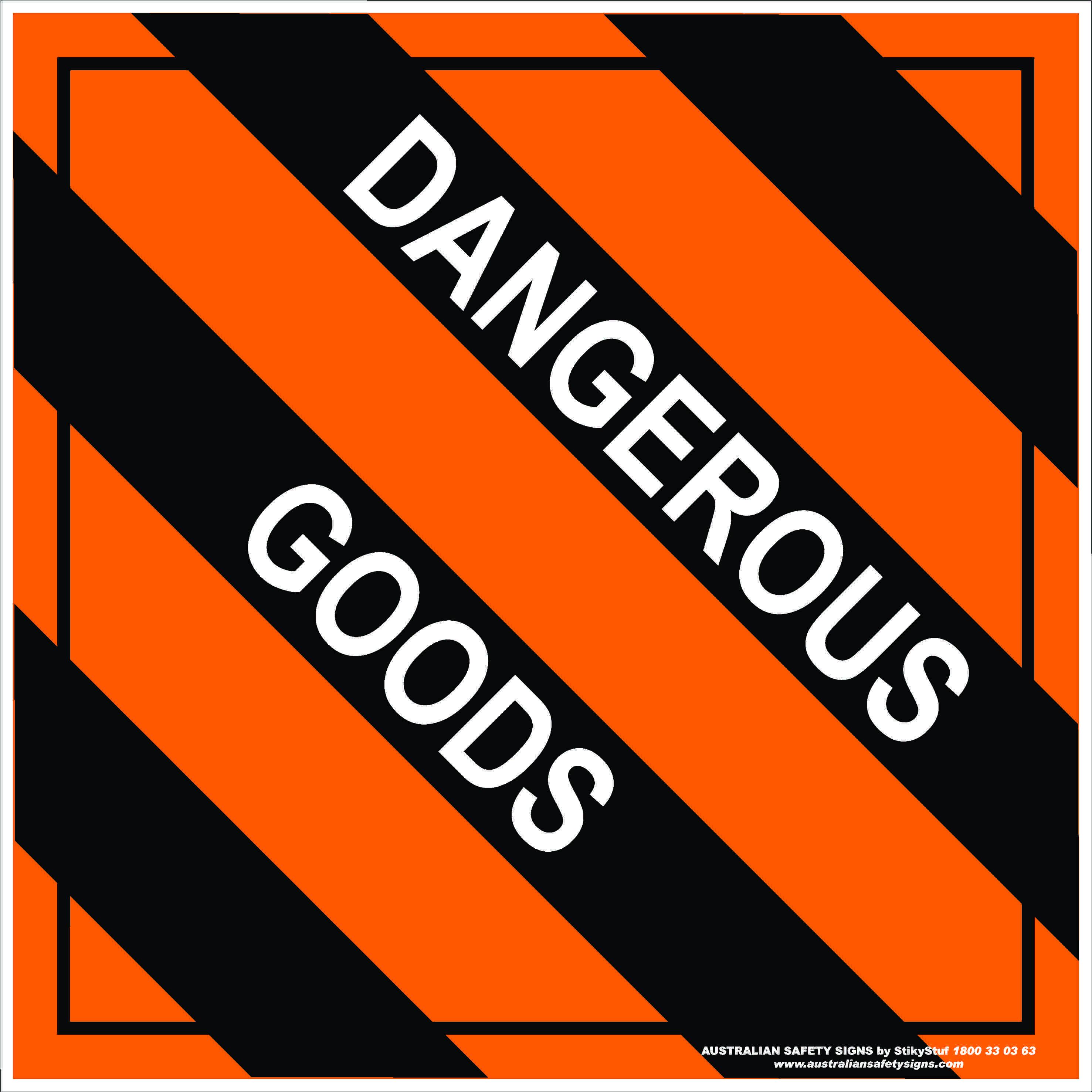 Hazchem Signs MIXED CLASS DANGEROUS GOODS