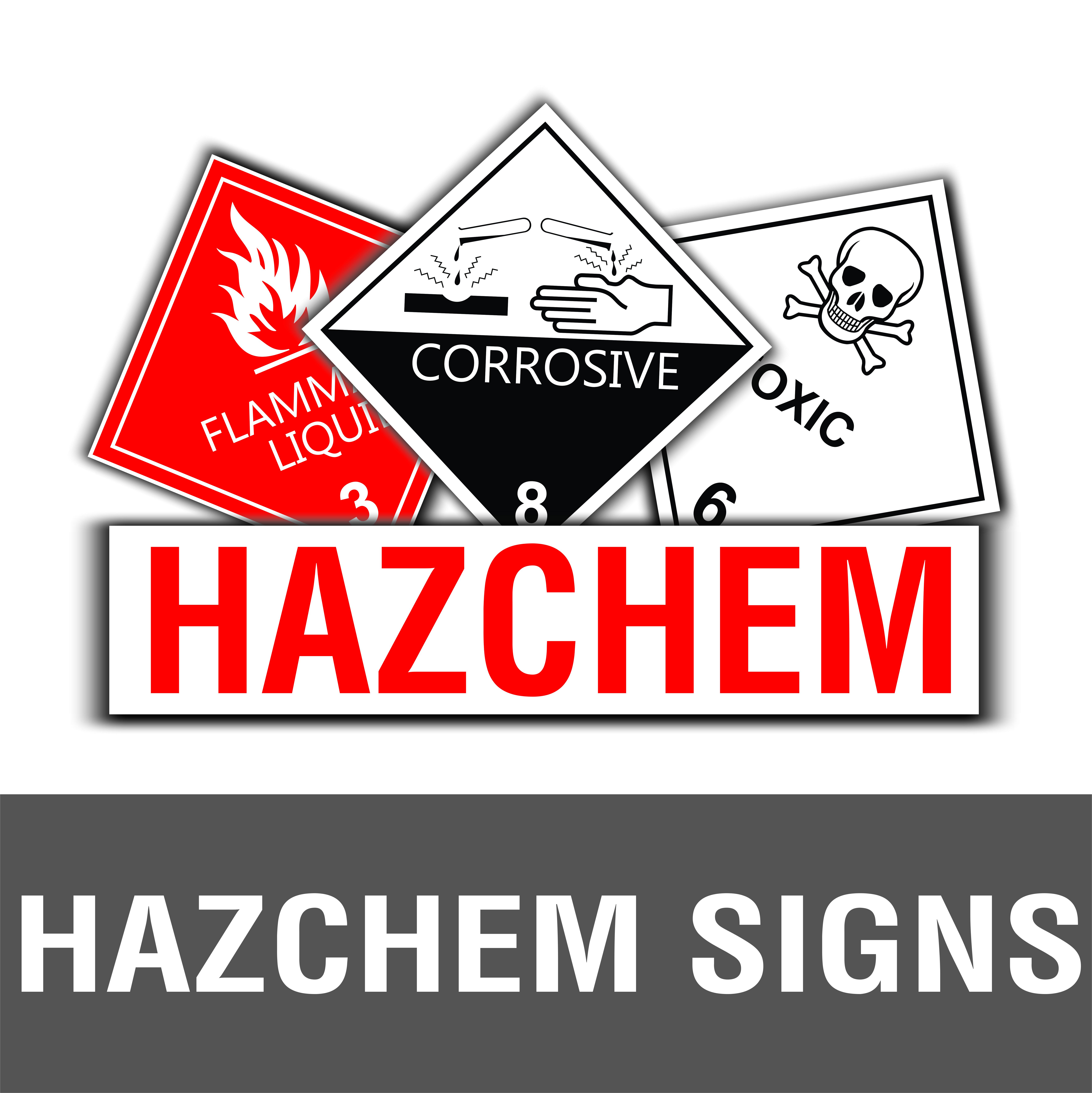 Hazchem Signs