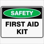 Emergency Signs FIRST AID KIT