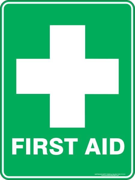 Emergency Signs FIRST AID