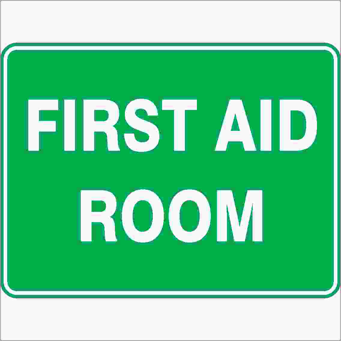 Emergency Signs FIRST AID ROOM