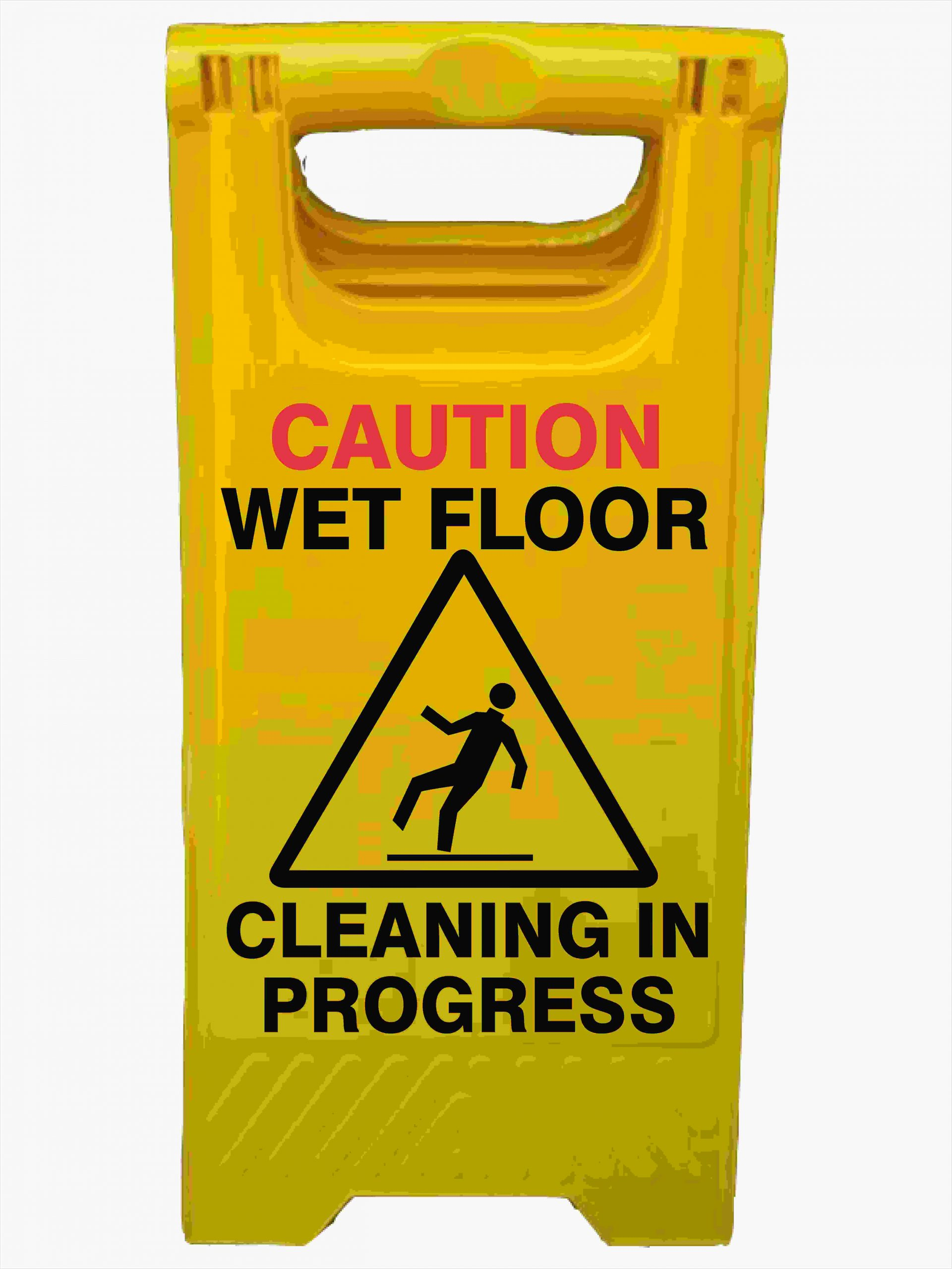 CAUTION CLEANING IN PROGRESS A-Frame Signs