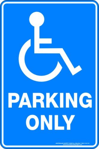 Parking Signs DISABLED PARKING ONLY