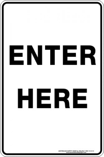 Parking Signs|Traffic Signs ENTER HERE