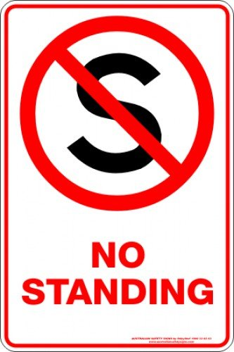 Parking Signs NO STANDING S