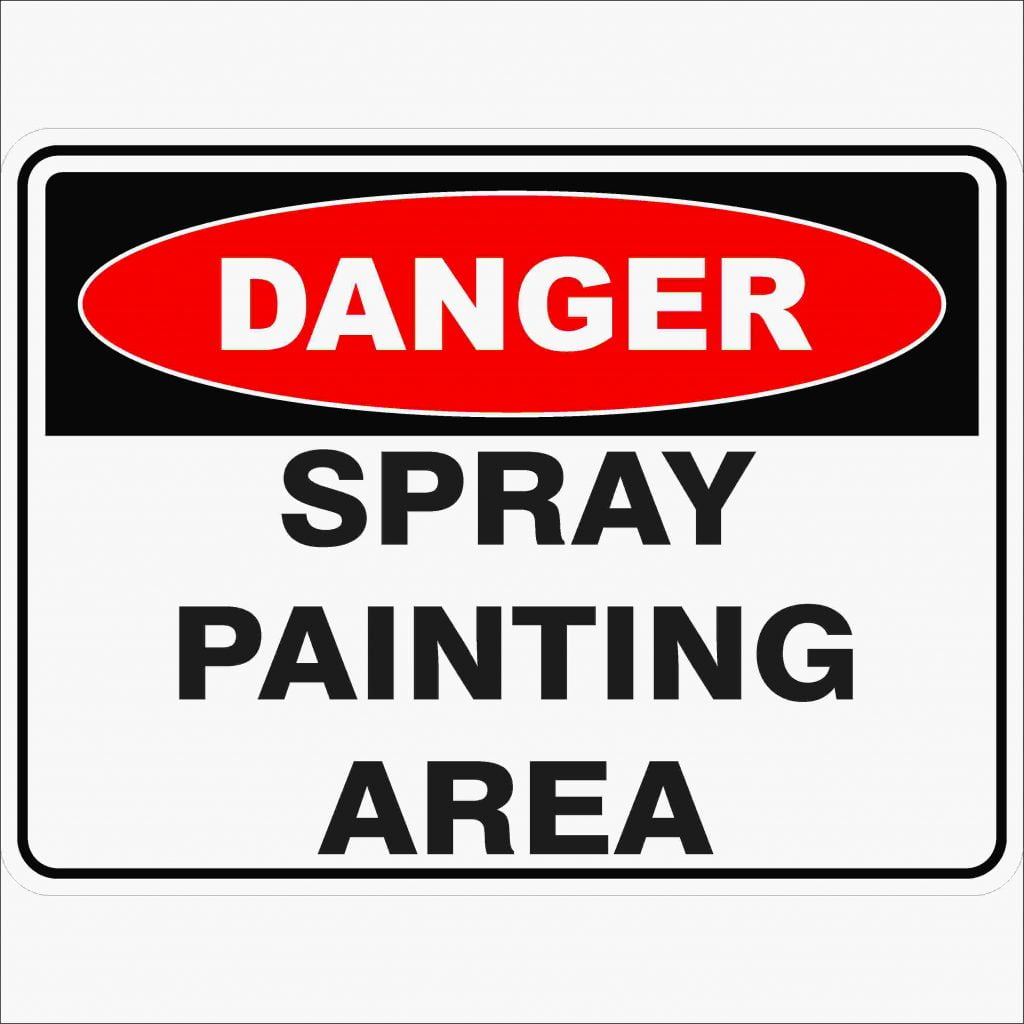 Spray Painting Area Discount Safety Signs New Zealand