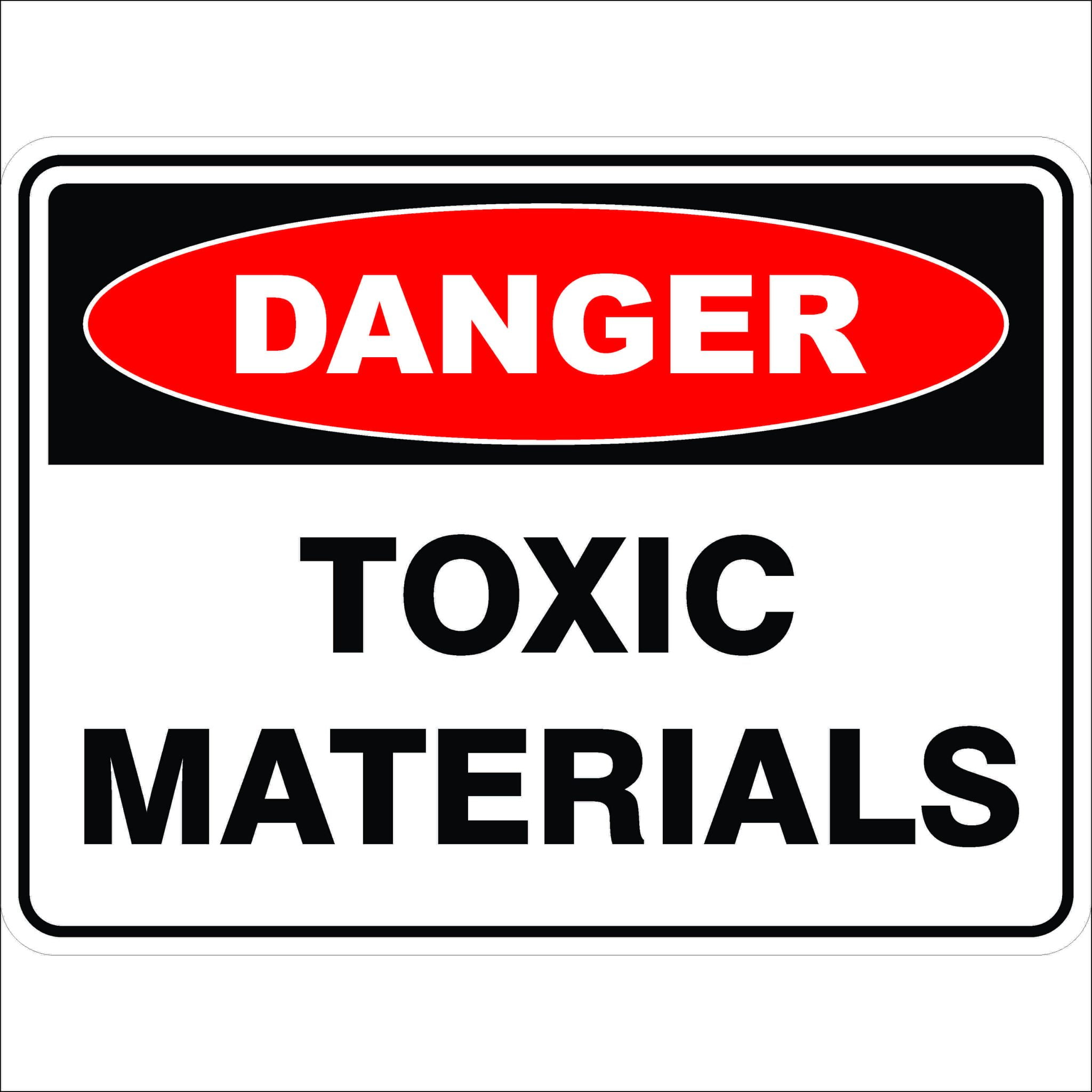 Danger Signs TOXIC MATERIALS