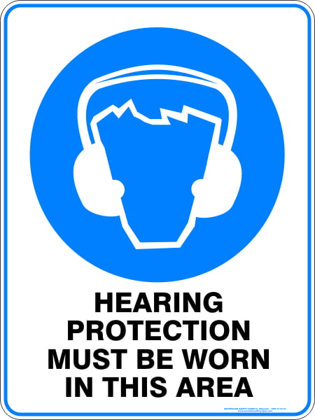 Mandatory Signs HEARING PROTECTION MUST BE WORN