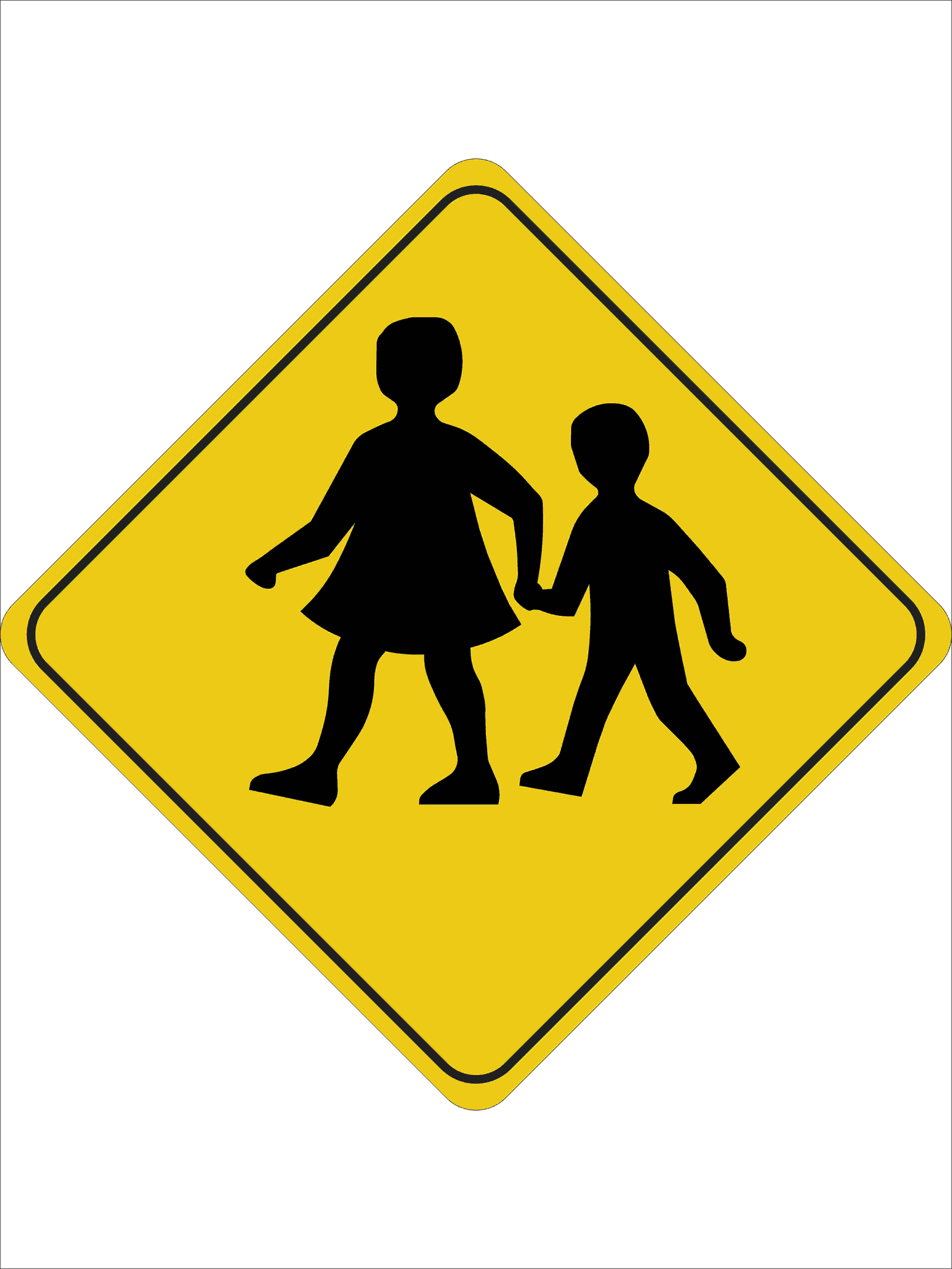 Traffic Signs CHILDREN CROSSING