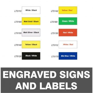 Engraved Signs and Labels
