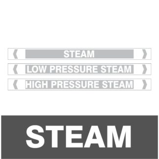 Steam Pipe Markers